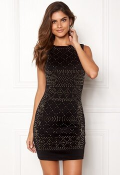 Chiara Forthi Portia studded dress Black / Gold Bubbleroom.no