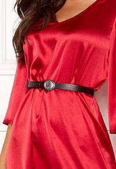 Chiara Forthi Pulsante Silver Belt Black Bubbleroom.no