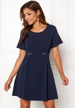 Chiara Forthi Ravello pearl dress Dark blue Bubbleroom.no