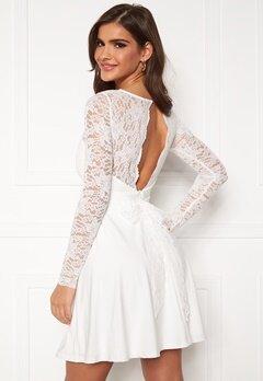 Chiara Forthi Riccia Dress White Bubbleroom.no