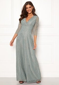 Chiara Forthi Riveria Lace Gown Green Bubbleroom.no