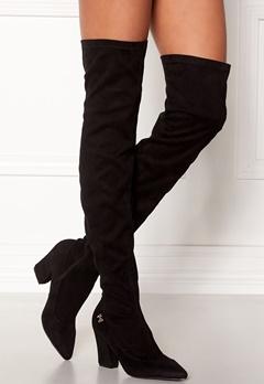 Chiara Forthi Roma overknee boots Black Bubbleroom.no