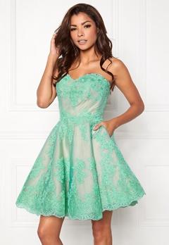 Chiara Forthi Rosetta Prom Gown Mint green Bubbleroom.no