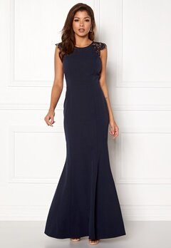 Chiara Forthi Sancia Dress Navy Bubbleroom.no