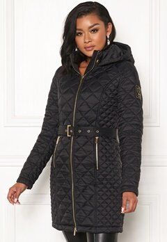 Chiara Forthi Sarraceno Quilted Fur Jacket Black Bubbleroom.no