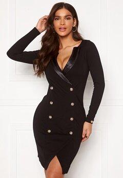 Chiara Forthi Sasha Blazer Dress Black Bubbleroom.no