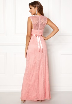 Chiara Forthi Serena Lace Gown Pink Bubbleroom.no