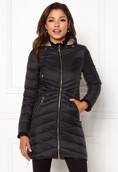 Chiara Forthi Sestriere Light Down Jacket Black Bubbleroom.no