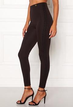 Chiara Forthi Sirelle lace leggings Black Bubbleroom.no