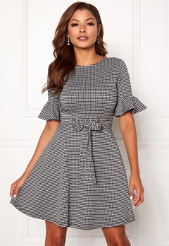 Chiara Forthi Sophie checked dress Checked Bubbleroom.no