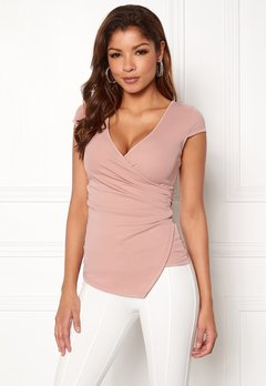 Chiara Forthi Soprano Wrap Top Light pink Bubbleroom.no