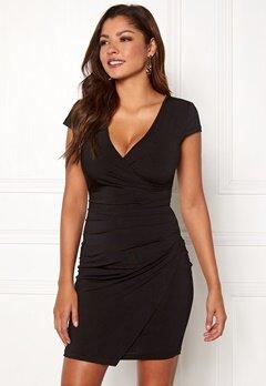 Chiara Forthi Soprano Wrap Dress Black Bubbleroom.no
