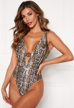 Chiara Forthi St Tropez swimsuit Animal print Bubbleroom.no