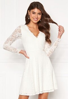 Chiara Forthi Stephanie dress White Bubbleroom.no