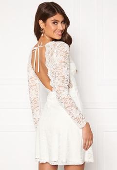 Chiara Forthi Stephanie dress White Bubbleroom.no