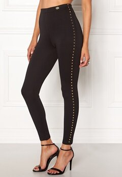 Chiara Forthi Studded Pants Black Bubbleroom.no