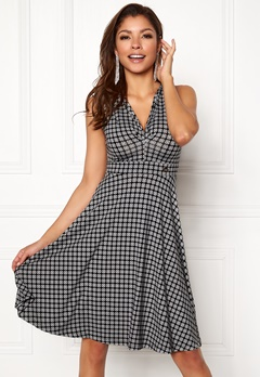 Chiara Forthi Tiamii Dress Grey / Patterned Bubbleroom.no