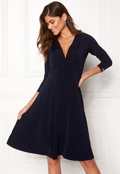 Chiara Forthi Tiamii Jersey Dress Dark blue Bubbleroom.no