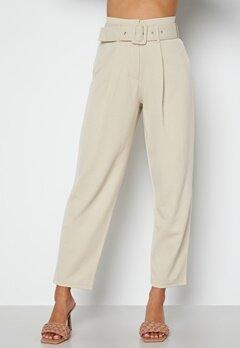 Chiara Forthi Traviata soft suit pants Light beige bubbleroom.no