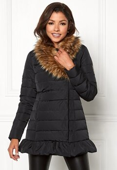 Chiara Forthi Val Gardena Down Jacket Black Bubbleroom.no
