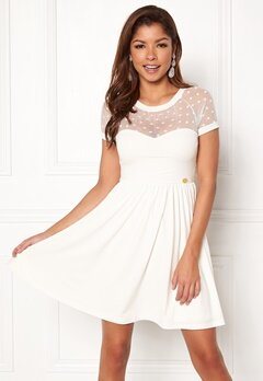 Chiara Forthi Valentina dress Offwhite Bubbleroom.no