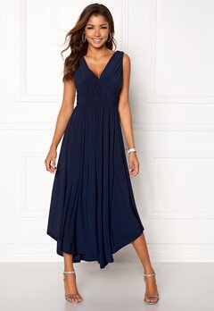 Chiara Forthi Valeria Dress Dark blue Bubbleroom.no