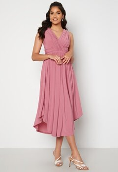 Chiara Forthi Valeria Dress Dark pink Bubbleroom.no