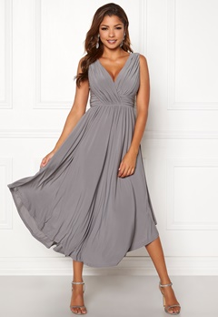Chiara Forthi Valeria Dress Grey Bubbleroom.no