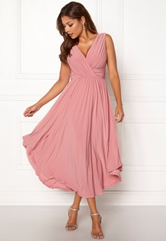 Chiara Forthi Valeria Dress Heather pink Bubbleroom.no