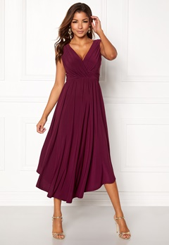 Chiara Forthi Valeria Dress Plum Bubbleroom.no