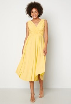 Chiara Forthi Valeria Dress Yellow Bubbleroom.no