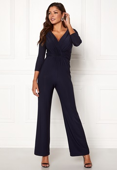 Chiara Forthi Valeria Jumpsuit Dark blue Bubbleroom.no