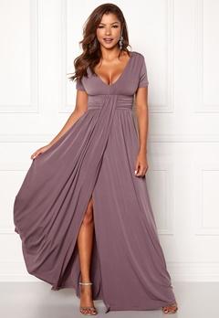 Chiara Forthi Vanessa S/S Gown Nougat Lilac Bubbleroom.no