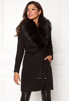 Chiara Forthi Verona Coat Black Bubbleroom.no