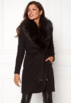 Chiara Forthi Verona Coat Black Bubbleroom.no