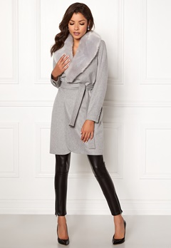 Chiara Forthi Verona Coat Grey Bubbleroom.no