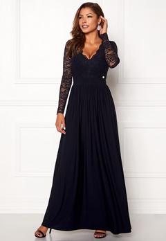 Chiara Forthi Wendolyn gown Dark blue Bubbleroom.no