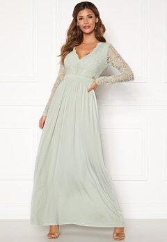 Chiara Forthi Wendolyn gown Dusty green bubbleroom.no