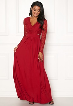Chiara Forthi Wendolyn gown Red Bubbleroom.no
