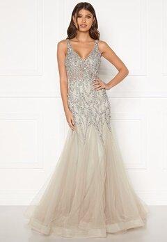 Christian Koehlert Cristal Prom Dress Ghost Grey Bubbleroom.no