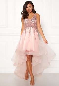 Christian Koehlert Sparkling Short Dream Dress Pearl Pink Bubbleroom.no