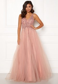 Christian Koehlert Sparkling Tulle Dream Dress Dawn Pink Bubbleroom.no