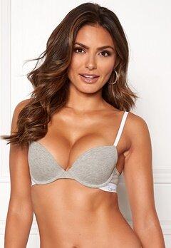 Calvin Klein CK One Cotton T-shirt Bra Grey Heather Bubbleroom.no