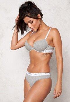 Calvin Klein CK One Cotton Thong Grey Heather Bubbleroom.no