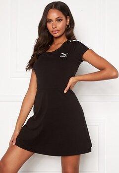 PUMA Classic Shortsleeve Dress Black Bubbleroom.no