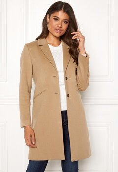 GANT Classic Tailored Coat 248 Dark Khaki Bubbleroom.no