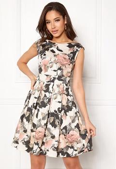 Closet London Tie Back Dress Multi Bubbleroom.no