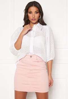 co'couture Briela Anglaise Shirt White Bubbleroom.no
