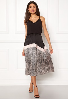 co'couture Cobra Plisse Skirt Nude Rose Bubbleroom.no