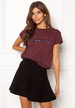 co'couture Cosma Dot Couture Tee 125 Berry Bubbleroom.no